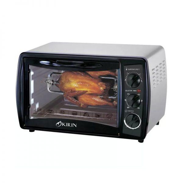 Kirin Oven Elektrik KBO 190RA / Oven Roaster KBO 190 RA - Hitam - [19L]