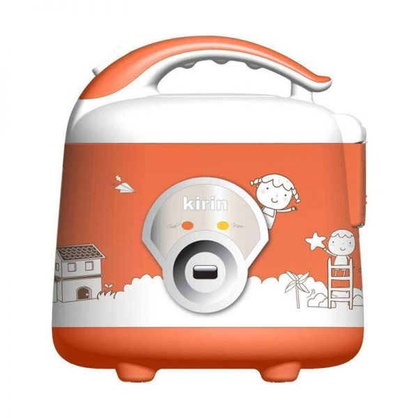 Kirin Magic Com KRC 088 / Rice Cooker KRC088 - Orange - [1L]
