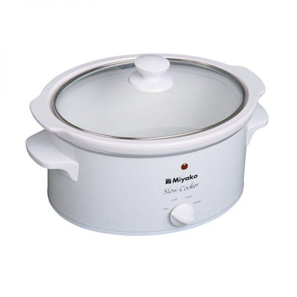 Miyako Slow Cooker SC630 / Pemasak Lambat SC 630 - Putih - [6L]