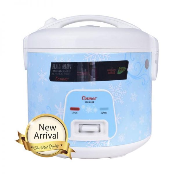 Cosmos Magic Com CRJ 6303 / Rice Cooker CRJ6303 - Biru - Bubble Wrap