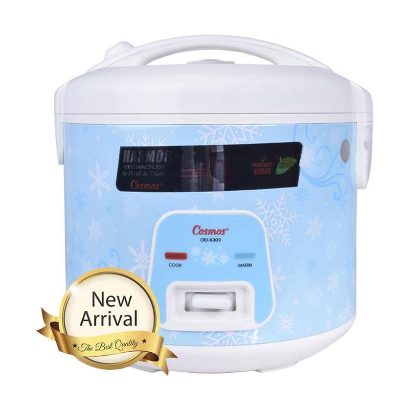 Cosmos Magic Com CRJ 6303 / Rice Cooker CRJ6303 - Biru - Bubble Wrap