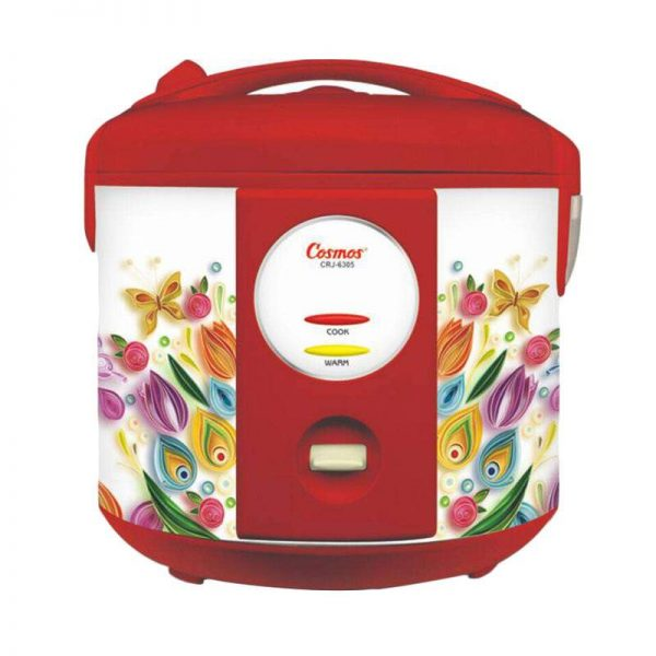 Cosmos Magic Com CRJ 6305 / Rice Cooker CRJ6305 - Merah - Bubble Wrap
