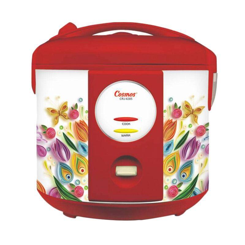 Cosmos Magic Com CRJ 6305 / Rice Cooker CRJ6305 - Merah - Bubble Wrap