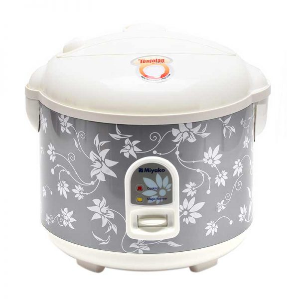 Miyako Magic Com MCM528 / Rice Cooker MCM 528 - Silver - [1.8L]