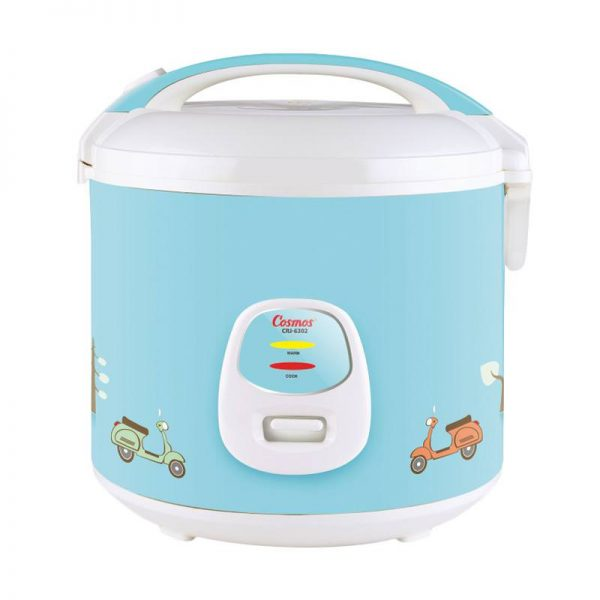 Cosmos Magic Com CRJ 6302 / Rice Cooker CRJ6302 - Biru - Bubble Wrap