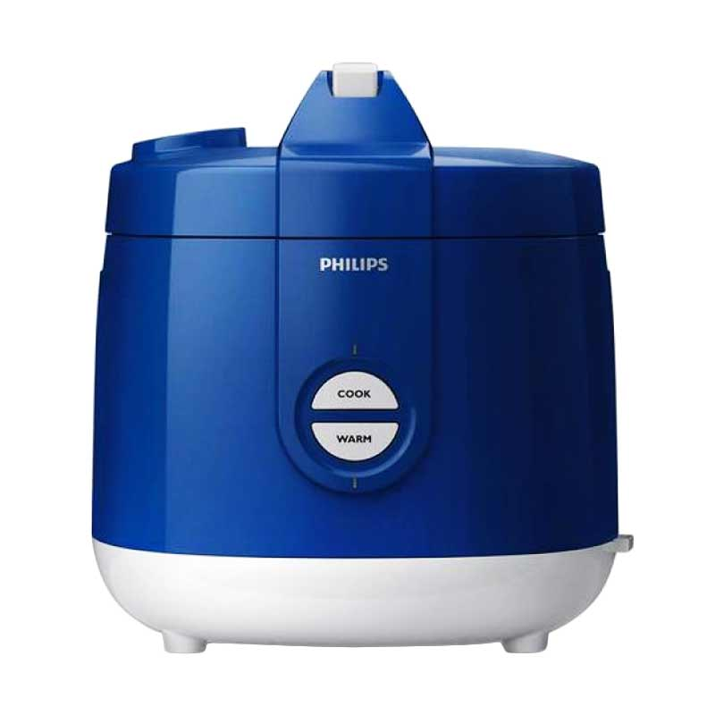 Philips Magic Com HD 3127 / Rice Cooker HD3127 - Biru - Bubble Wrap
