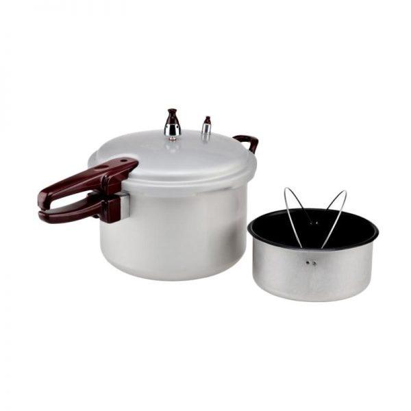 Maxim Presto Pressure Cooker [24 cm/ 7 L] - Silver - Bubble Wrap