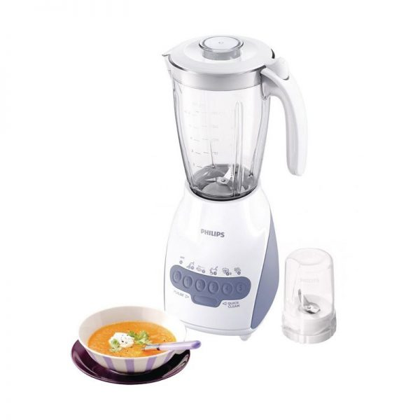 Philips Blender HR 2115 / HR2115 (Plastik) - Silver - Bubble Wrap [2L]