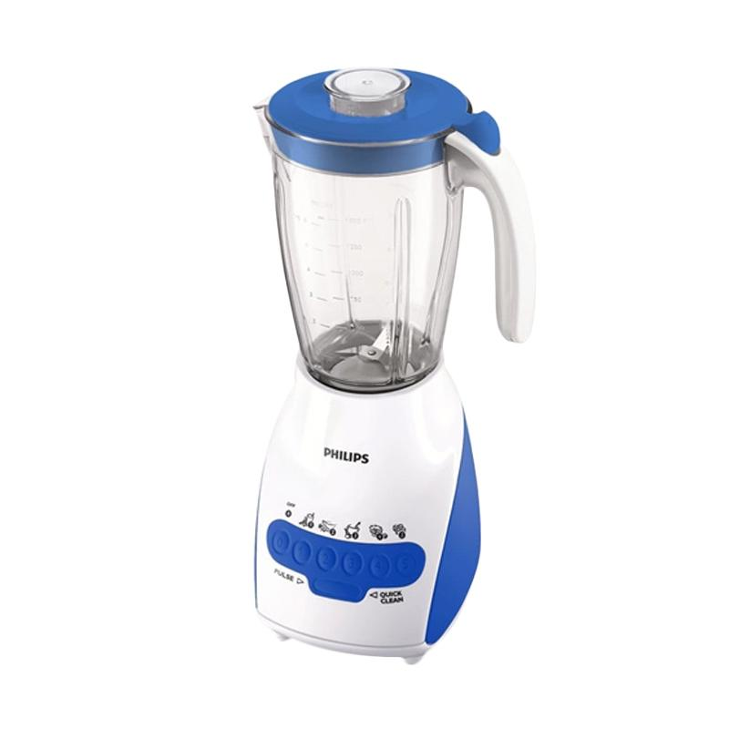 Philips Blender HR 2115 / HR2115 (Plastik) - Biru - Bubble Wrap [2L]